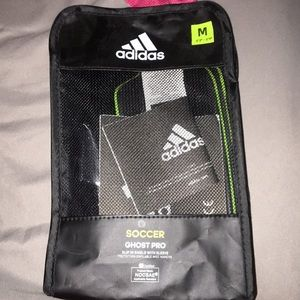 "Adidas Brand New ""M"" sized shinguards for soccer"